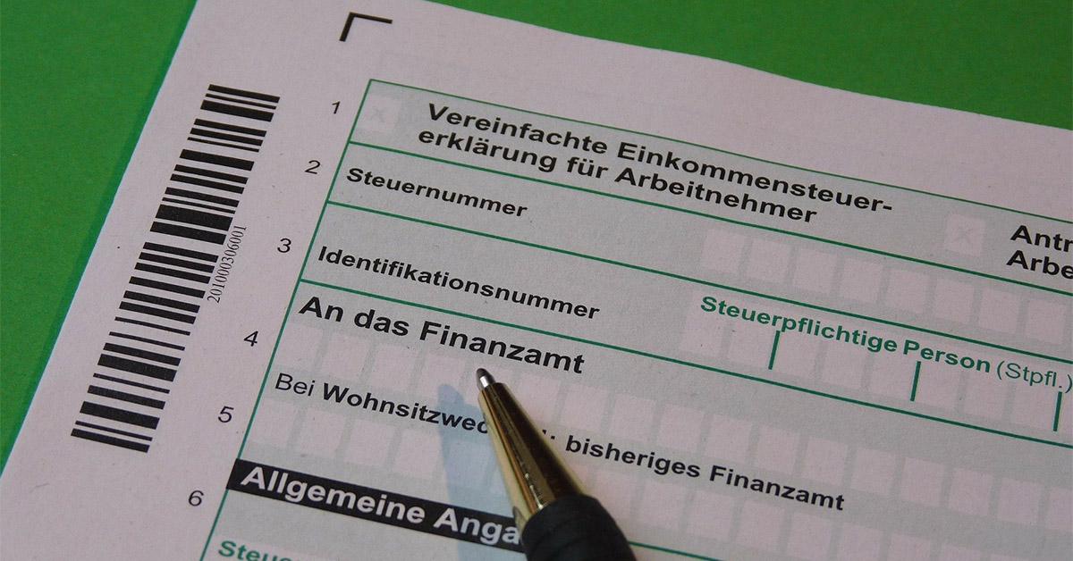 Sample Tax declaration