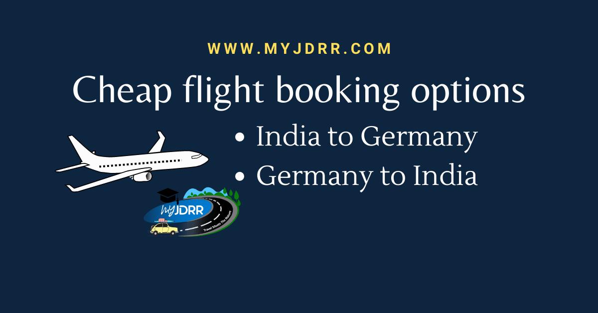 Cheap flight booking options