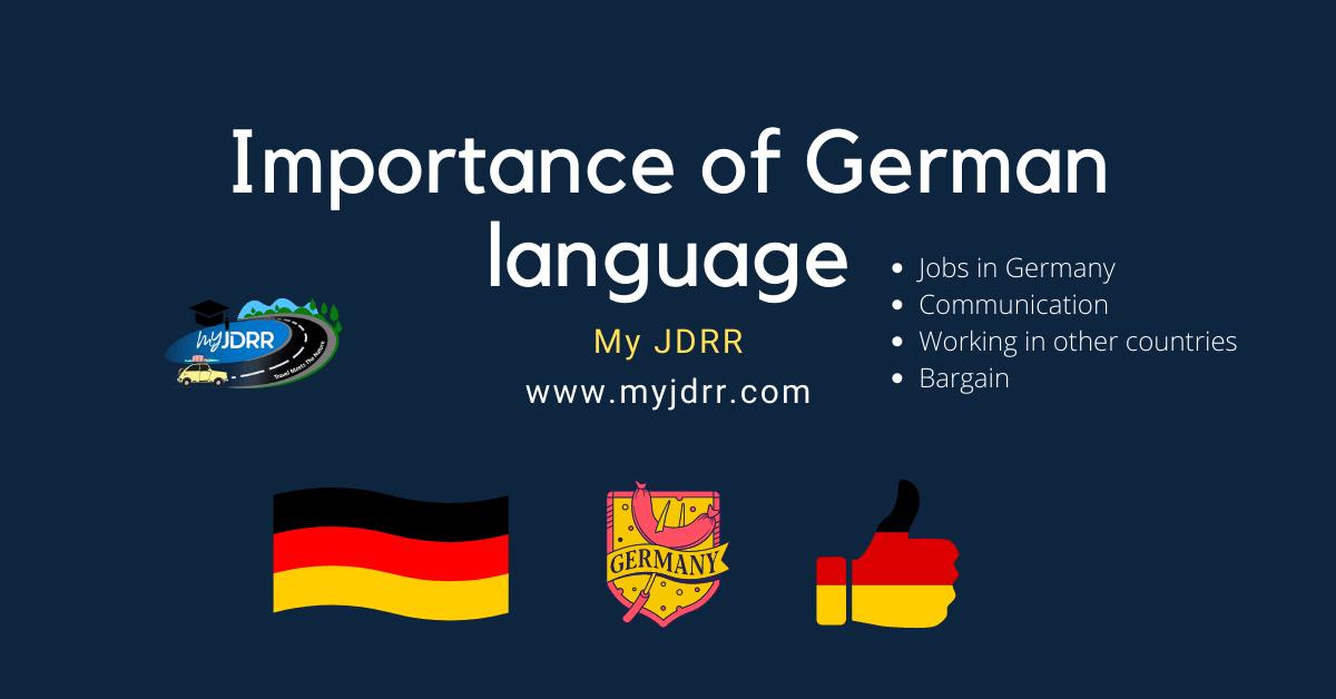 Importance of German language